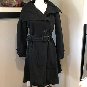Soia & Kyo Black Trench Coat